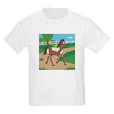 Farm Horse Kids Light T-Shirt