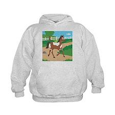 Farm Horse Kids Hoodie