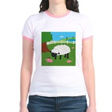 Sheep Jr. Ringer T-Shirt