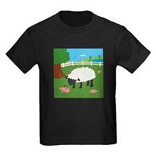 Sheep Kids Dark T-Shirt