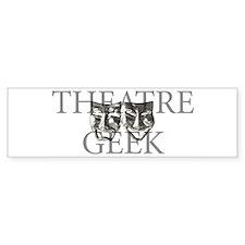 Theatre Geek Bumper Bumper Sticker