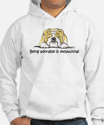 Adorable Bulldog Jumper Hoody