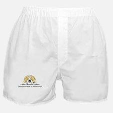 Adorable Bulldog Boxer Shorts