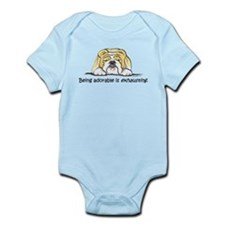 Adorable Bulldog Infant Bodysuit