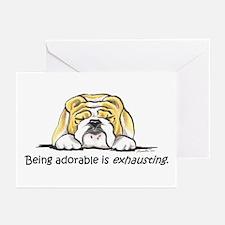 Adorable Bulldog Greeting Cards (Pk of 20)