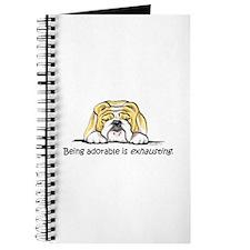 Adorable Bulldog Journal