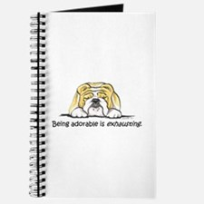 Adorable Bulldog Journal