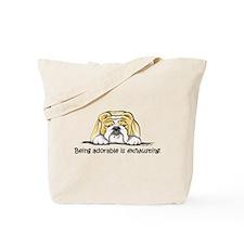 Adorable Bulldog Tote Bag