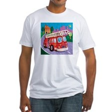 Fire Truck Fitted T-Shirt