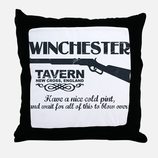 Winchester Tavern Throw Pillow