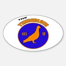 """The Tenderloin"" Decal"