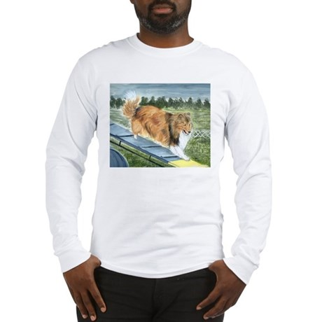 agility sheltie Long Sleeve T-Shirt