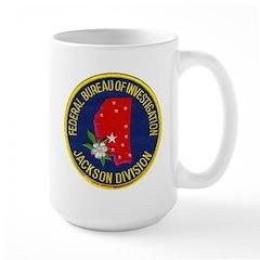FBI Jackson Division Mug