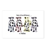 Dare to be Different Cows Postcards (Package of 8)