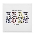 Dare to be Different Cows Tile Coaster