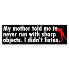 Sharp Objects Bumper Bumper Sticker