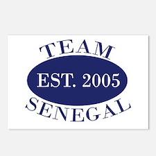 Team Senegal Est. 2005 Postcards (Package of 8)