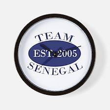 Team Senegal Est. 2005 Wall Clock