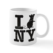 I Rat Love New York NY Mug