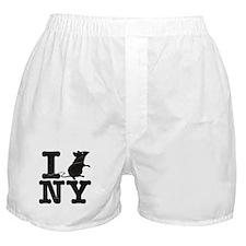 I Rat Love New York NY Boxer Shorts