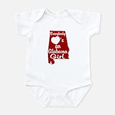 Everybody Loves an Alabama Gi Infant Bodysuit