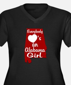 Everybody Loves an Alabama Gi Women's Plus Size V-