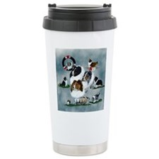 The Versatile Sheltie Travel Mug