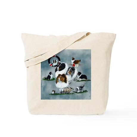 The Versatile Sheltie Tote Bag