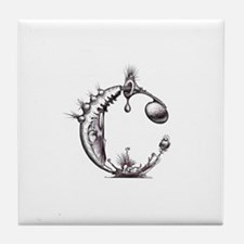 Letter C Monogrammed Items by Tile Coaster