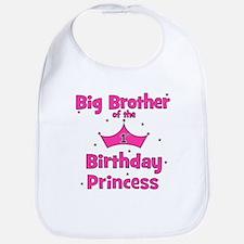 Big Brother 1st Birthday Prin Bib