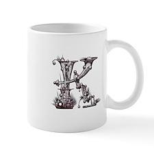 Letter K Monogrammed Items by Mug