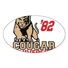 Cougar University Decal