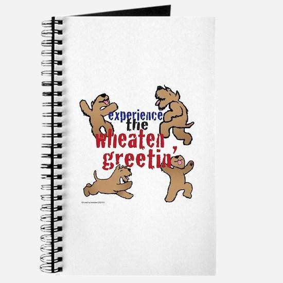 Wheaten Greetin' Journal