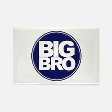 big brother simple circle shirt Rectangle Magnet