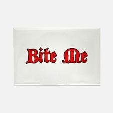 Bite Me Rectangle Magnet