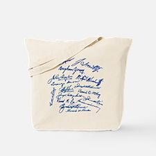 LDS Prophets Autographs Tote Bag