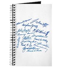 LDS Prophets Autographs Journal
