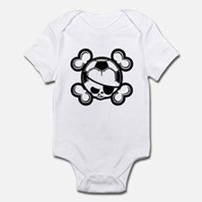 Soccer Kid Pirate Infant Bodysuit