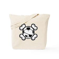 Soccer Kid Pirate Tote Bag