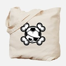 Soccer Kid Pirate Tote Bag