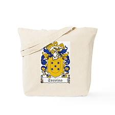Trevino Coat of Arms Tote Bag