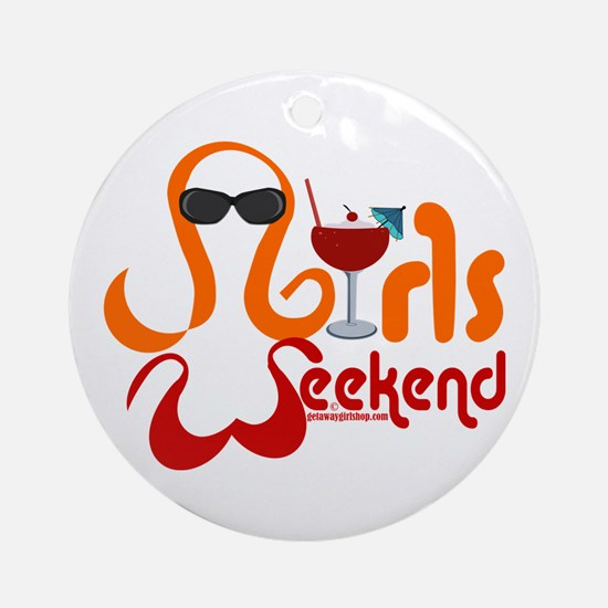 I'll Drink To That! Ornament (round)