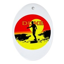 Duke Oval Ornament