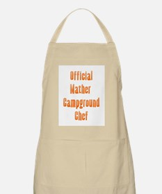 Official Mather Campground Chef BBQ Apron