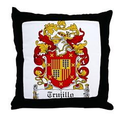 Trujillo Coat of Arms Throw Pillow