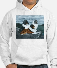Shelties in the Mist Hoodie