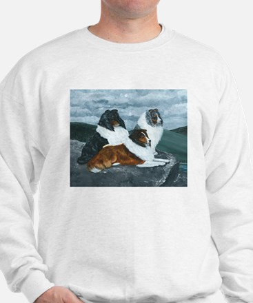 Shelties in the Mist Jumper