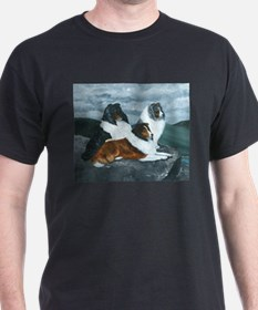 Shelties in the Mist T-Shirt