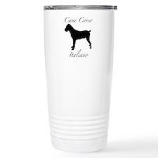 Unique Cane corso italiano Travel Mug