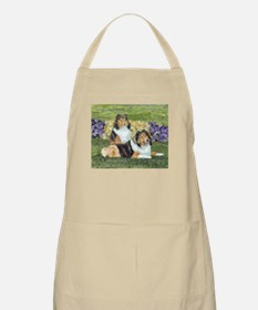 Sheltie Pair Apron